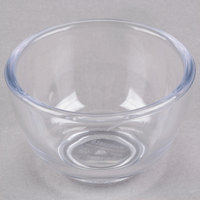Carlisle 083007 1.1 oz. Clear Round Plastic Souffle Cup - 144/Case