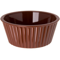 Carlisle 084528 Lennox Brown 4.5 oz. Fluted Ramekin - 48/Case