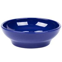 Carlisle 4312560 Cobalt Blue SAN Plastic 5 oz. Salsa Dish - 48/Case