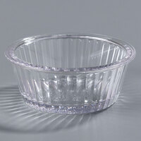 Carlisle 084407 Clear 2 oz. Fluted Ramekin - 48/Case