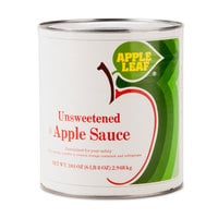 #10 Can Unsweetened Apple Sauce - 6/Case