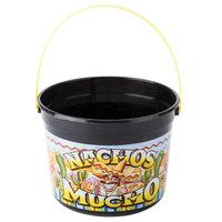 48 oz. Plastic Nachos Mucho Bucket - 160/Case