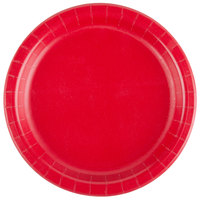 Creative Converting 791031B 7 inch Classic Red Paper Lunch Plate - 240/Case