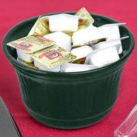 Tablecraft CW1453HGN 16 oz. Hunter Green Cast Aluminum Condiment Bowl