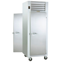 Traulsen G10012P Solid Door 1 Section Pass-Through Refrigerator - Right / Right Hinged Doors