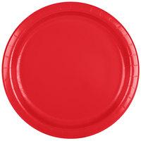 Creative Converting 471031B 9 inch Classic Red Paper Plate - 240/Case