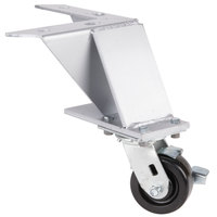 Bakers Pride S1115Y Legs with Casters - 4/Set