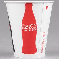 Dart Solo RP2SCB-K1038 Coke® 12 oz. Poly Paper Cold Cup - 2000/Case