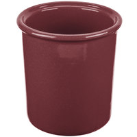 Tablecraft CW1670MAS 1 Qt. Maroon Speckle Cast Aluminum Condiment Bowl