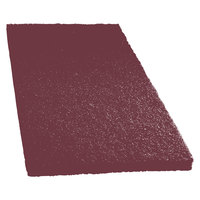 Scrubble by ACS 47-14x20 14 inch x 20 inch Maroon Thin Line Conditioning / Surface Preparation Floor Pad - Type 47   - 10/Case