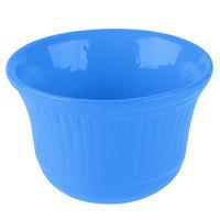 Tablecraft CW1453CBL 16 oz. Cobalt Blue Cast Aluminum Condiment Bowl