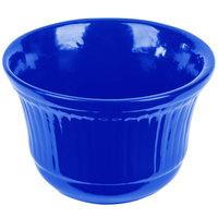Tablecraft CW1453BL 16 oz. Cobalt Blue Cast Aluminum Condiment Bowl