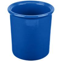 Tablecraft CW1670CBL 1 Qt. Cobalt Blue Cast Aluminum Condiment Bowl