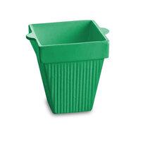 Tablecraft CW1470GN 2 Qt. Green Cast Aluminum Square Condiment Bowl