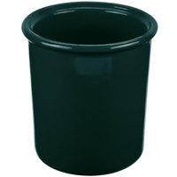 Tablecraft CW1670HGN 1 Qt. Hunter Green Cast Aluminum Condiment Bowl