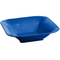 Tablecraft CW3510CBL 4 Qt. Cobalt Blue Cast Aluminum Square Bowl