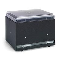 Vollrath 3855-06 Straw Boss Single Sided Bulk Straw Dispenser - Black