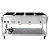 Vollrath 38219 ServeWell SL Electric Five Pan Hot Food Table 208/240V - Sealed Well