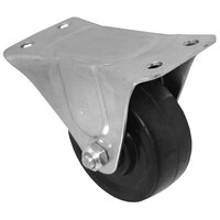 All Points 26-3333 3 inch Black Rigid Plate Caster