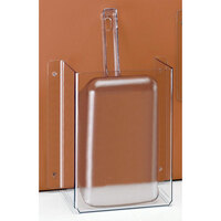 Cal Mil 624 Wall Mount Scoop Guard with 32 oz. Scoop