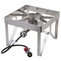 Backyard Pro Stainless Steel Single Burner Outdoor Patio Stove / Range - 55,000 BTU