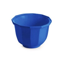 Tablecraft CW1792BL 3.25 Qt. Cobalt Blue Cast Aluminum Round Prism Bowl