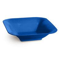 Tablecraft CW3500CBL 2.5 Qt. Cobalt Blue Cast Aluminum Square Bowl