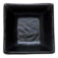 Elite Global Solutions JW4007 Ore 2 oz. Black Square Kozara Bowl