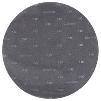 Scrubble by ACS 32145 20 inch Sand Screen Disc with 80 Grit   - 10/Case