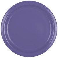 Creative Converting 47115B 9 inch Purple Paper Plate - 240/Case