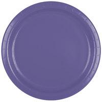 Creative Converting 47115B 9 inch Purple Paper Plate   - 240/Case
