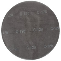 Scrubble by ACS 33179 17 inch Sand Screen Disc with 120 Grit - 10/Case