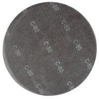 Scrubble by ACS 32100 17 inch Sand Screen Disc with 80 Grit - 10/Case