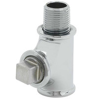 T&S B-TEE-RGD 3/8 inch NPT Rigid Tee Assembly for Pre-Rinse Faucets