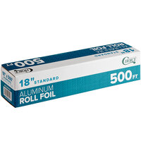 Choice 18 inch x 500' Food Service Standard Aluminum Foil Roll
