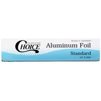 Choice 18 inch x 500' Food Service Standard Aluminum Foil Roll