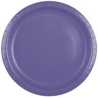 Creative Converting 50115B 10 inch Purple Paper Plate - 240/Case