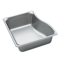 Vollrath 3100240 Super Pan 4 inch Deep Super Shape Wild Pan - Full Size Short