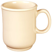 Thunder Group ML901T Nustone Tan Melamine Mug 8 oz. - 12/Pack