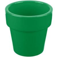 Tablecraft CW1450GN 18 oz. Green Cast Aluminum Round Condiment Bowl