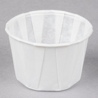 Genpak F125 1.25 oz. Harvest Paper Souffle / Portion Cup - 5000/Case
