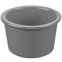 Tablecraft CW1660GR 17 oz. Granite Cast Aluminum Condiment Bowl