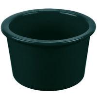 Tablecraft CW1660HGN 17 oz. Hunter Green Cast Aluminum Condiment Bowl