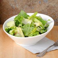 CAC SHER-15 Sheer 12 oz. Bone White Porcelain Salad Bowl - 36/Case