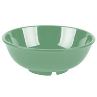 GET B-24-FG Diamond Mardi Gras 24 oz. Rainforest Green Melamine Bowl - 12/Pack