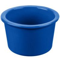 Tablecraft CW1660CBL 17 oz. Cobalt Blue Cast Aluminum Condiment Bowl