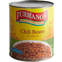 Furmano's Spiced Chili Beans #10 Can