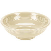 Homer Laughlin 765330 Fiesta Ivory 2 Qt. Pedestal Serving Bowl - 4/Case