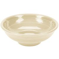 Homer Laughlin 765330 Fiesta Ivory 2 Qt. Pedestal Serving Bowl - 4/Case