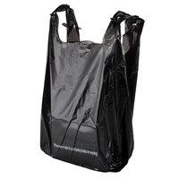 1/6 Size Black T-Shirt Bag - 850 / Case